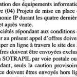 Offre Expiré:Société de Transport des Hydrocarbures par Pipelines (SOTRAPIL).